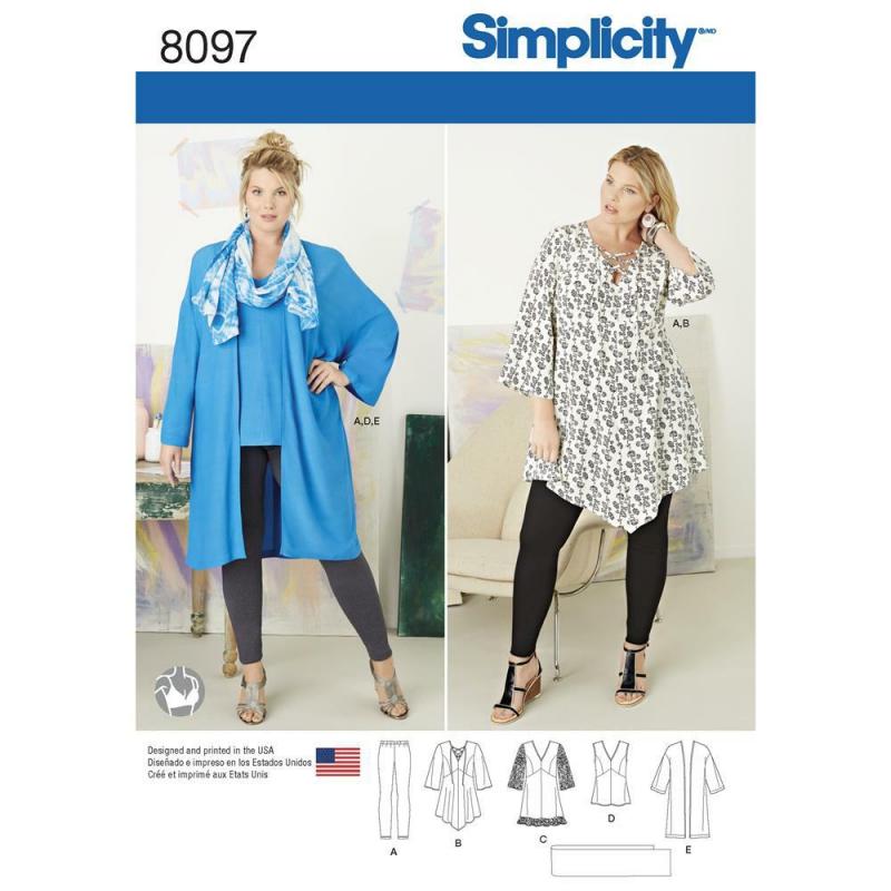 Wykrój Simplicity 8097