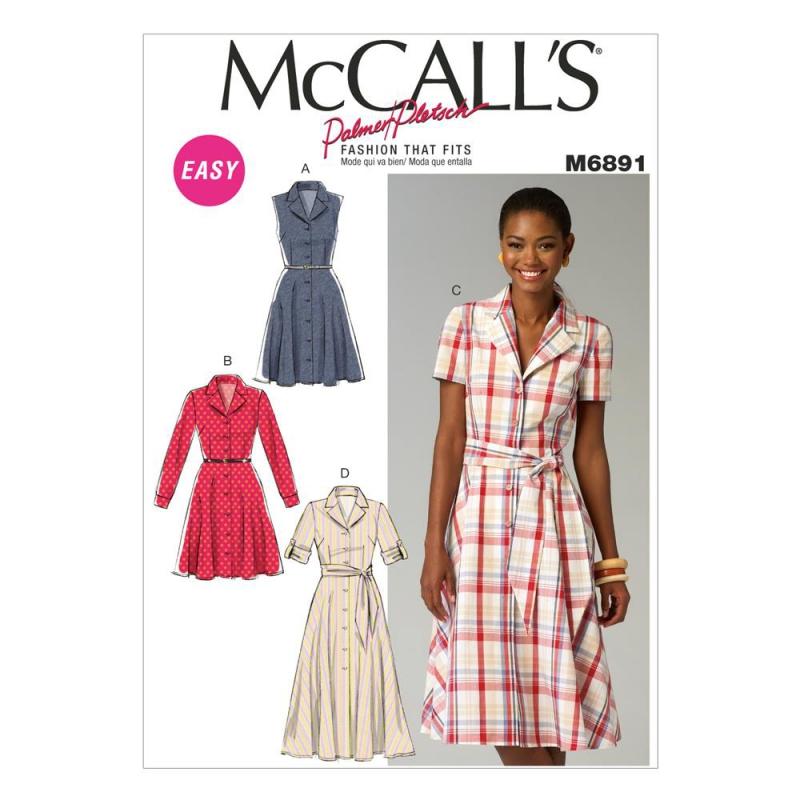 Wykrój McCall's M6124