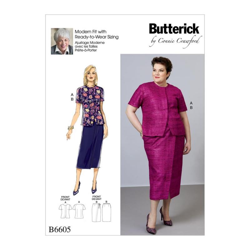 Wykrój Butterick B6605