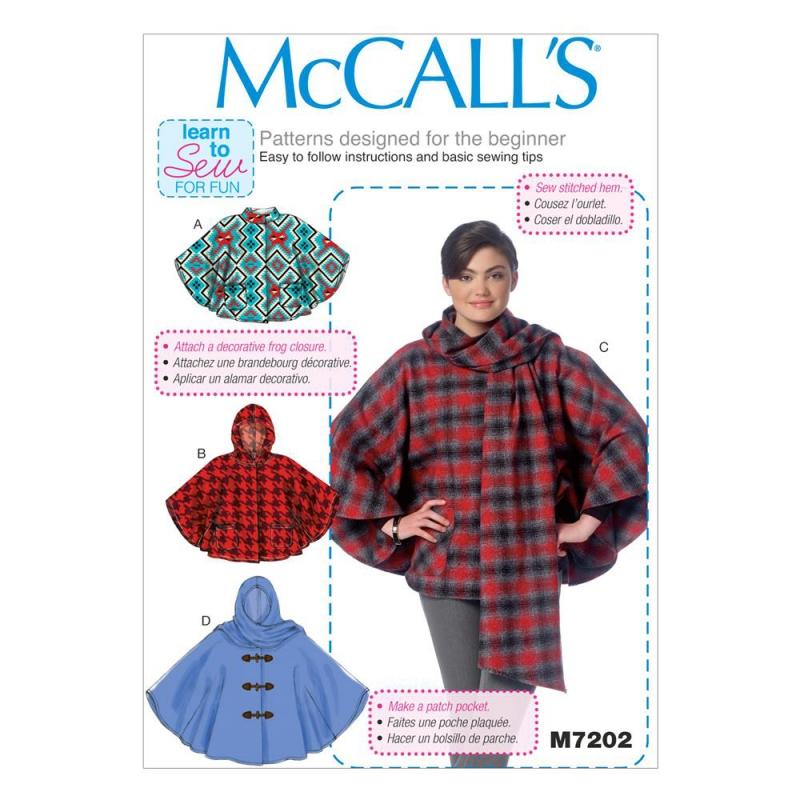 Wykrój McCall's M7202