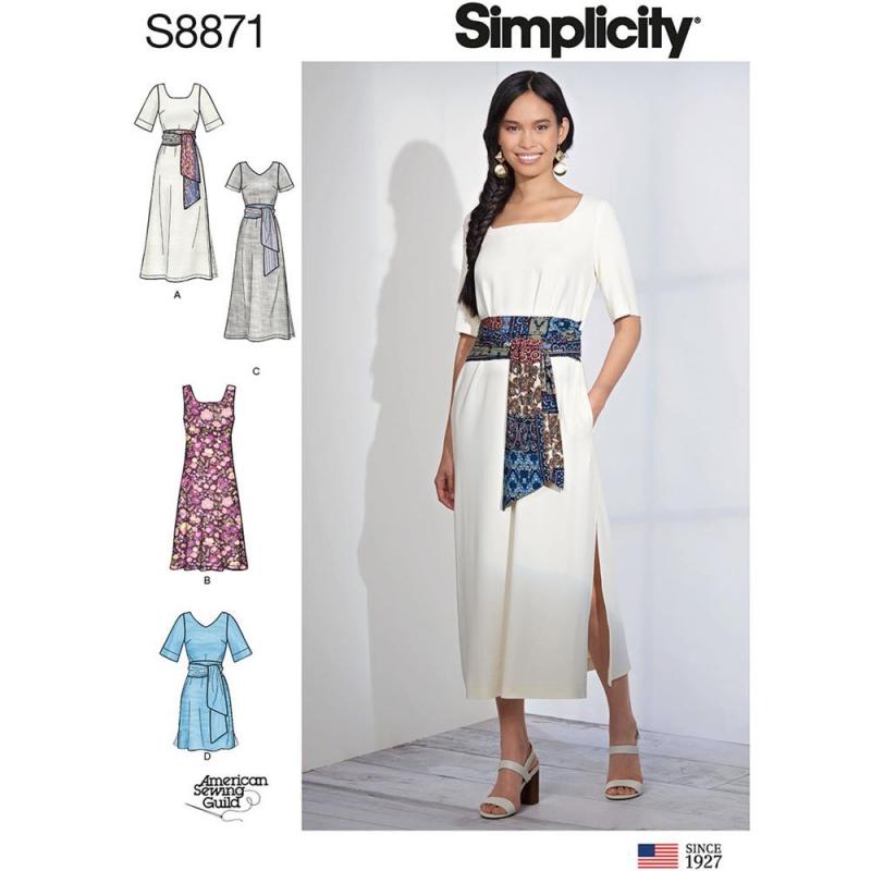 Wykrój Simplicity 8871