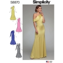 Wykrój Simplicity 8870