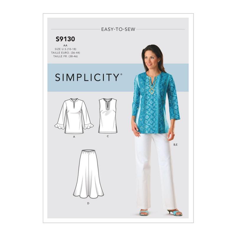 Wykrój Simplicity S9130