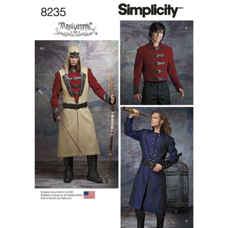 8235 simplicity costumes pattern 8235 envelope fro