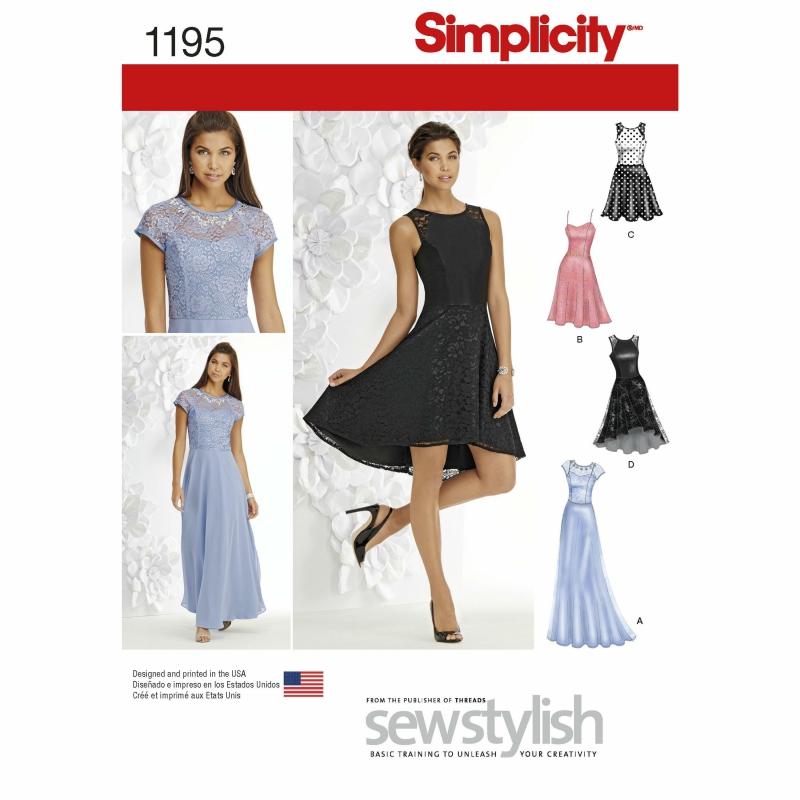 Wykrój Simplicity 1195