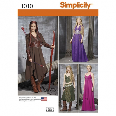 1010 simplicity costumes pattern 1010 envelope fro