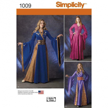 1009 simplicity costumes pattern 1009 envelope fro