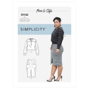 5359 simplicity costumes pattern 5359 front back v