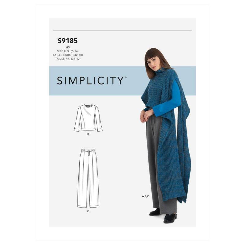 8543 simplicity amazingfit dress pattern 8543 AV5