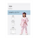 8545 simplicity sheer dress pattern 8545 envelope