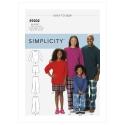 8545 simplicity sheer dress pattern 8545 AV5