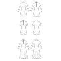 8545 simplicity sheer dress pattern 8545 AV4