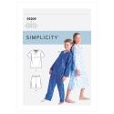 8545 simplicity sheer dress pattern 8545 AV1