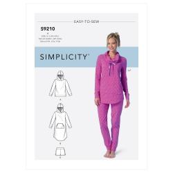 8543 simplicity amazingfit dress pattern 8543 fron