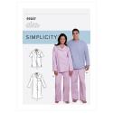 8550 simplicity offshoulder shirt pattern 8550 AV2