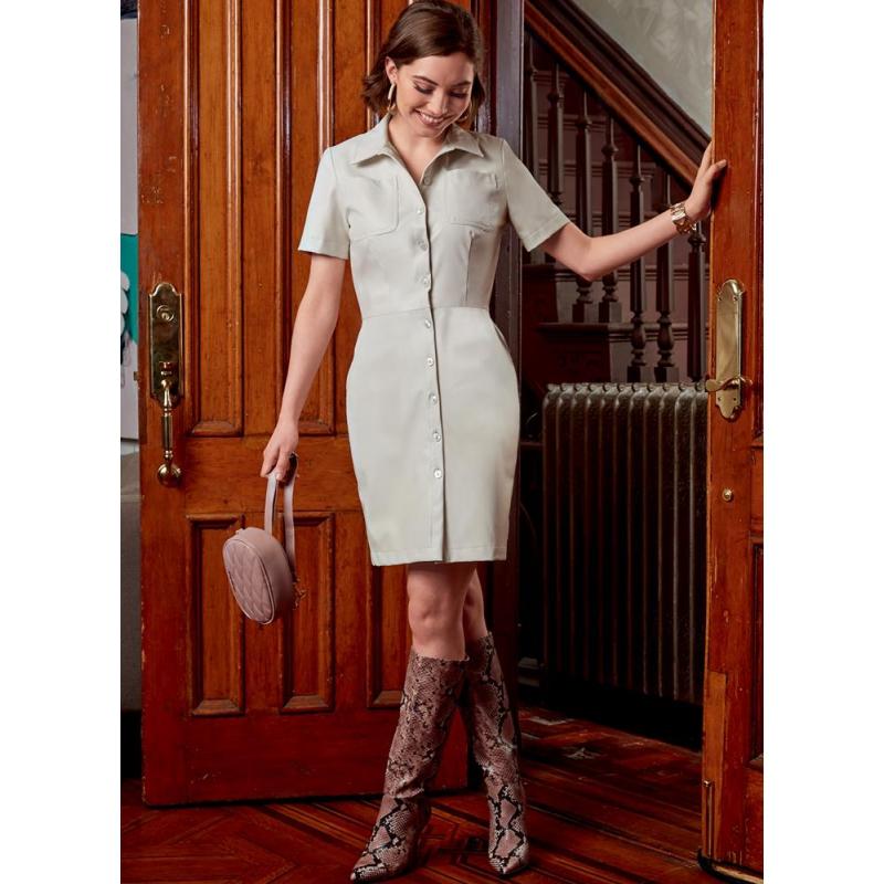 8551 simplicity tunic dress pattern 8551 AV3