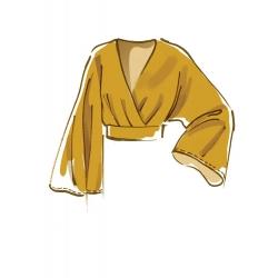 8552 simplicity tunics pattern 8552 front back vie