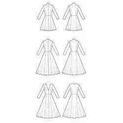 8013 simplicity dresses pattern 8013 AV1
