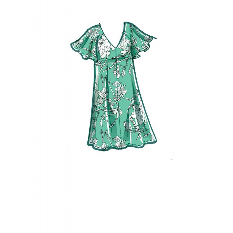 8065 simplicity girls pattern 8065 envelope front