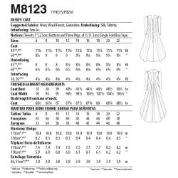 8747 simplicity vintage suit 1950s pattern 8747 AV