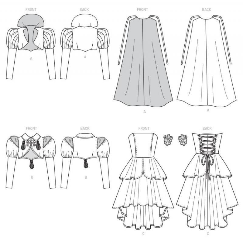 8747 simplicity vintage suit 1950s pattern 8747 en