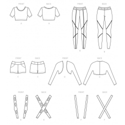 5 simplicity threads sportswear pattern 8748 a