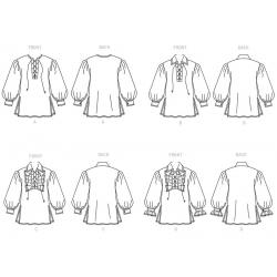 8748 simplicity threads sportswear pattern 8748 AV