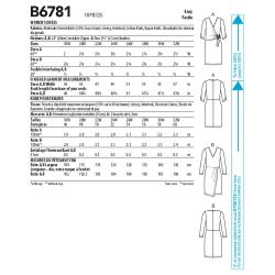1183 simplicity tops vests pattern 1183 AV1A