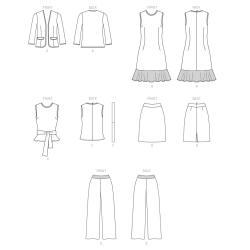 8235 simplicity costumes pattern 8235 AV1