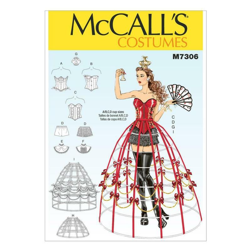 Wykrój McCall's M7306