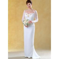 8328 simplicity two piece dress pattern 8328 AV2