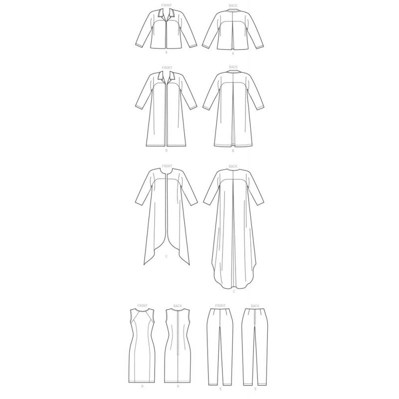 8328 simplicity two piece dress pattern 8328 AV3