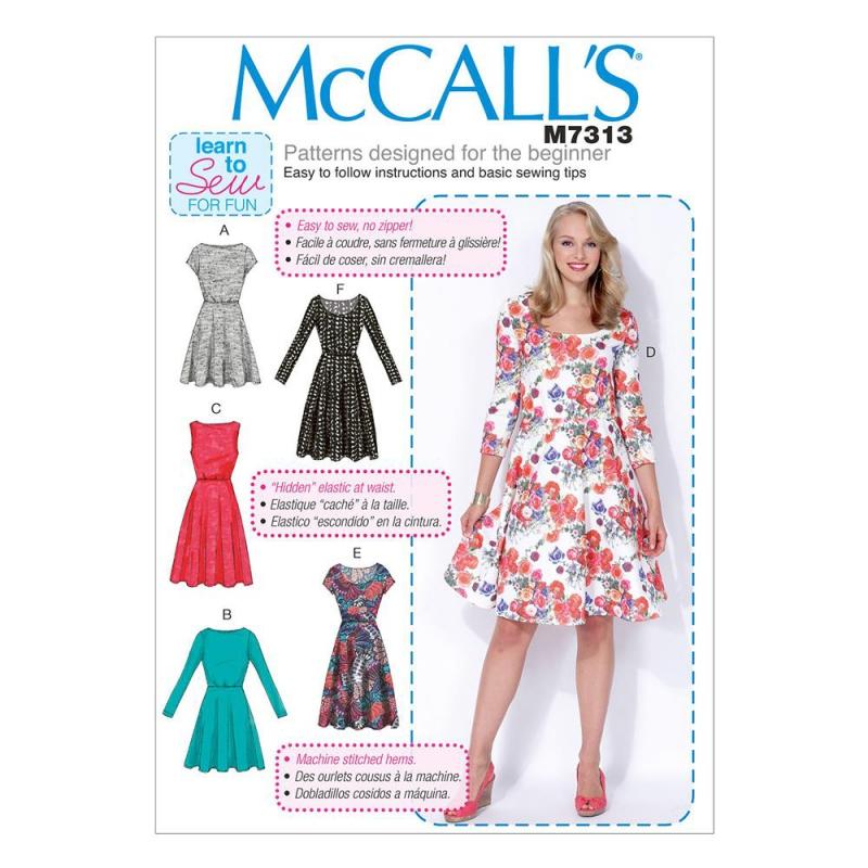 Wykrój McCall's M7313