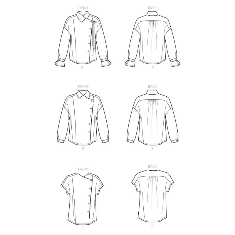 1421 simplicity jackets coats pattern 1421 AV3