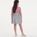 1510 simplicity girls pattern 1510 front back view