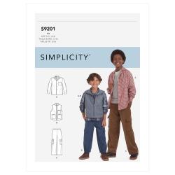 1571 simplicity girls pattern 1571 AV3