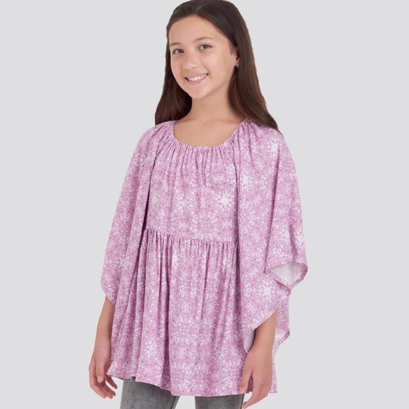 1571 simplicity girls pattern 1571 AV2
