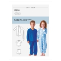 1572 simplicity babies toddlers pattern 1572 front