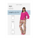 1211 simplicity girls pattern 1211 AV1