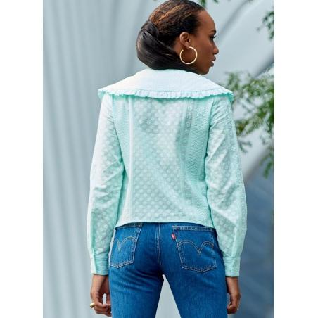 5simplicity vintage blouse cummerbund miss pat