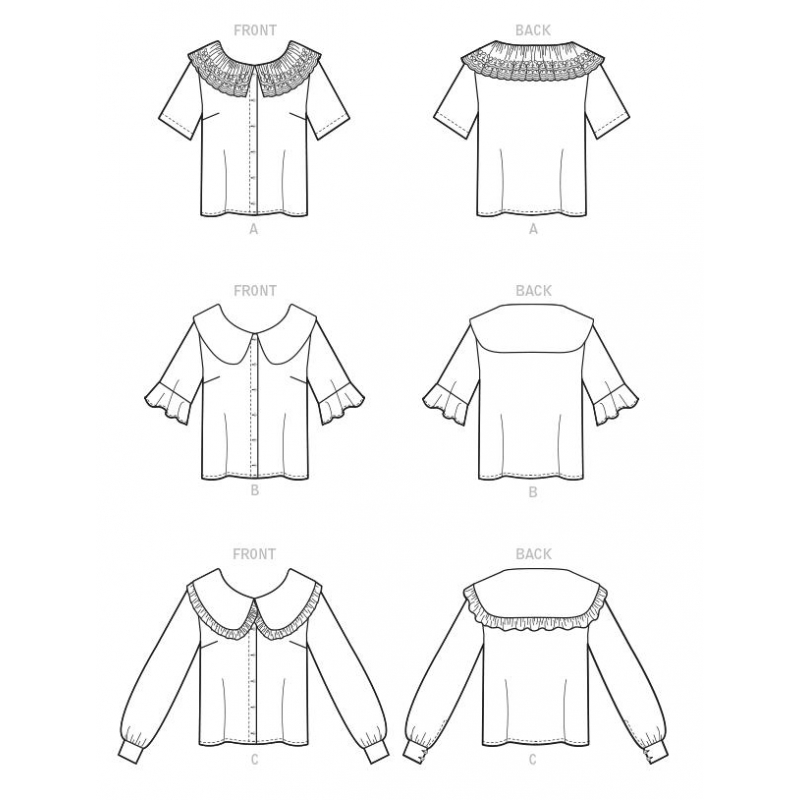 1369 simplicity skirts pants pattern 1369 AV1