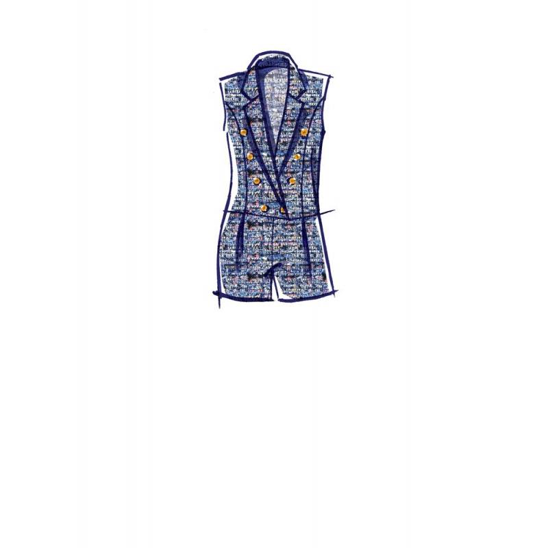 3simplicity vintage blouse cummerbund miss pat
