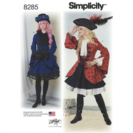 8285 simplicity costumes pattern 8285 envelope fro