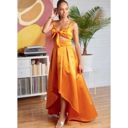 8448 simplicity vintage 1950s rockabilly dress mis