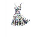8566 simplicity girls tunic pattern 8566 front bac