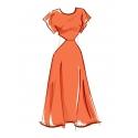 8566 simplicity girls tunic pattern 8566 AV2