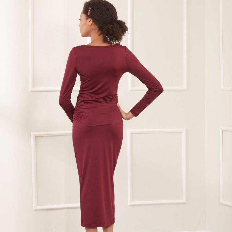 8616 simplicity ruby jean apron dress pattern 8616