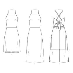 8626 simplicity corset belts pattern 8626 AV4