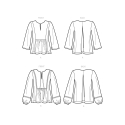 8626 simplicity corset belts pattern 8626 AV3