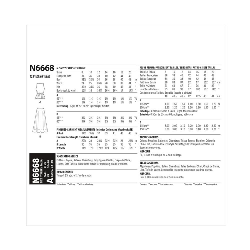 8626 simplicity corset belts pattern 8626 front ba